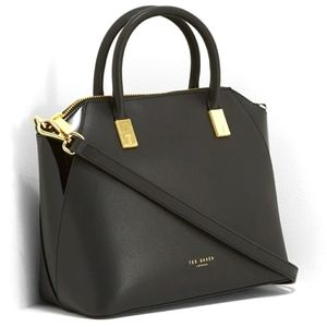 Ted Baker Abbeyy Small Leather Tote in EUC
